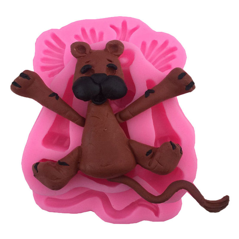 Cake Decorating Animal Molds : 3D Animal Silicone Fondant Chocolate Mould Cake Decor ...